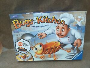 BUGS IN THE KITCHEN Board Game by RAVENSBURGER. (Complete)