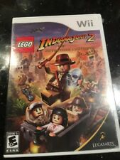 LEGO Indiana Jones 2 The Adventure Continues Nintendo Wii New Factory Sealed