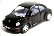 "5"" Kinsmart New VW Volkswagen Beetle Diecast Model Toy Car 1:32 Black"