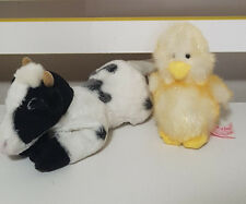 RUSS BERRIE CHICK-A-LOO AND YOMIKO CLASSIC CRANBERRY PLUSH TOY 12CM AND 21CM!