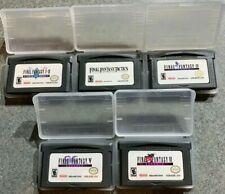 Final Fantasy Dawn of Souls Tactics Ii 2 Iv 4 V 5 Vi 6 Gameboy Advance Gba