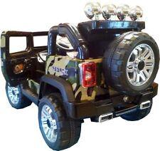 Auto elettrica per bambini Jeep militare macchina auto elettrica 12 Volt