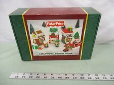 Fisher Price Little People Christmas NEW Santa Village present sleigh Elf Mrs.