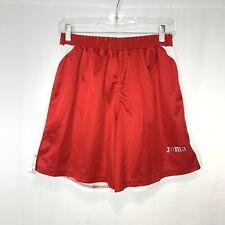 Joma Men's Red White Athletic Soccer Football Shorts - Size Medium