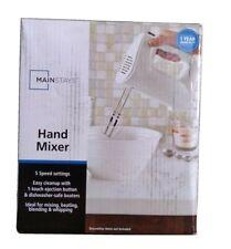 Mainstays 5 Speed Hand Mixer