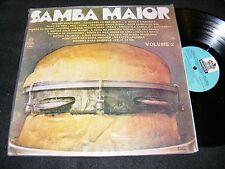 SAMBA MAIOR Volume 2 Made In URUGUAY LP Odeon Stereo 1976 Collection Sampler