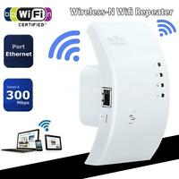Wireless-N Wifi Repeater 802.11N Network Router Range Expander 300M