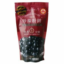 BOBA Black Tapioca Pearl Bubble Tea 8.8 oz for Milk Tea, Thai Tea, Iced Coffee