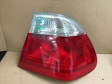 Bmw e46 saloon rear light o/s driver side pre facelift 1999-2001