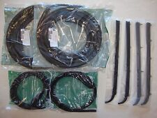 1987-1996 Ford F150 F250 F350 Pickup Truck, Bronco Door Weatherstrip Seal Kit