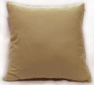 Rc506a Khaki Plain Soft Pure Cotton Fabric Cushion Cover/Pillow Case*Custom Siz