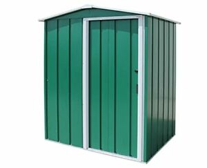 ECO 5 x 4 Hot-Dipped Galvanized Metal Garden Shed - Tool Storage Shed