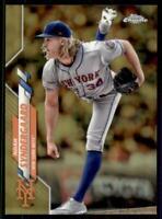 2020 Topps Chrome Base Gold Refractor #58 Noah Syndergaard /50 - New York Mets