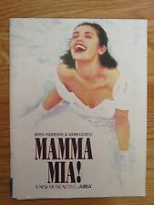 2000 Mamma Mia! A New Musical Songs of Abba Concert Tour Program