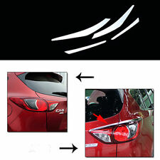 4pcs Stainless Steel Car  Tail Lamp Light Cover Frame Trim For Mazda CX-5 12-16