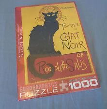 Steinlen Black Cat Tournee du Chat Noir de Rodolphe Salis Jigsaw Puzzle 1000 Pcs