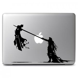 Cloud and Sephiroth Final Fantasy VII for Macbook Air/Pro Laptop Vinyl Decal