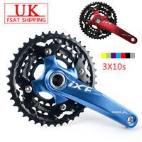 IXF 3X10s Triple MTB Road Bike Cycling Chainset Crank set 104/64bcd Chainring
