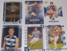 Select & Teamcoach Geelong Mark Blicavs cards x7 inc Silvers,B&F,EP,2017 commons
