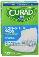 CURAD Telfa Non-stick Sterile Pads 2 X 3 Inches 10 EAC