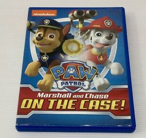 Paw Patrol Marshall and Chase On The Case NTSC Region 1 US IMPORT DVD