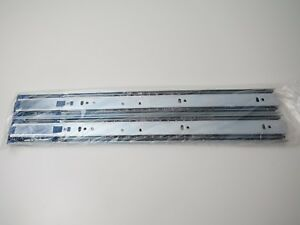 New Hettich 9114275 Steel Silent System Drawer Runner (Silver) 450mm 1 set