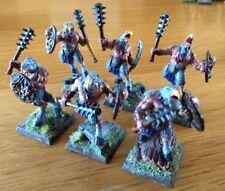 Warhammer 40k caos aos tzaangor guerreros Miniaturas Lote De 6 Pro Pintado