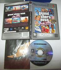 Grand Theft Auto Vice City Platinum - Sony Playstation 2 PS2 PAL