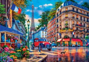 New 3000 pcs pc jigsaw Step puzzle Art Collection Paris. France FREE SHIPPING