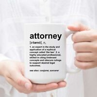 Attorney Definition - Funny Coffee or Tea Mug