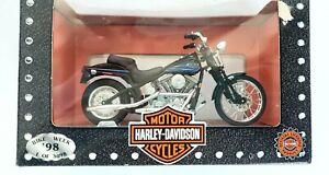 Vintage Maisto 1:18 Harley Davidson 1991 FXDB Sturgis 1998 Bike Week 1 of 3098