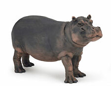 Papo Hippopotamus Cow Toy Figure Model Wild Animal 50155 NEW