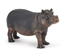Papo Hippopotamus Cow Toy Figure Model Wild Animal 50155 NEW