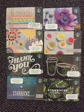 Lot x 8! Starbucks Gift Card UK GB No $ Value! Seller In US