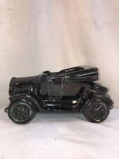 vtg 40-50's Pottery Art Black Model A Or T Car Automobile planter Flower Vase