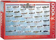 Seconde Guerre Mondiale Fighters (Alliés Air Command) Puzzle de 1000 Pièces