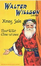 More details for advertising. walter willson xmas sale father christmas. come at once.