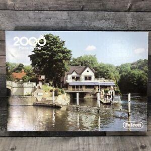 2000 Piece Jigsaw Puzzle By Falcon deluxe Boulters Lock, Maidenhead Argosy