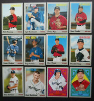 2019 Topps Heritage Minor League Detroit Tigers Master Team Set 12 Cards