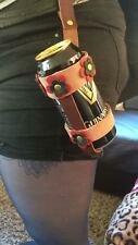 Beer Can Holders Leather Belt Holster Loop Festival Biker Drink Carrier