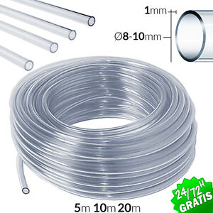Hose Of Rubber PVC Tube Transparent 8 10 MM 5 10 MT Car Ponds Aquariums