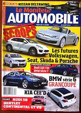 Le moniteur Automobile 20/09/2012; Spécial Salon de Paris/ Mazda 6 / Golf VII