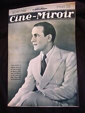 Ciné Miroir Avril 1936 N°574 Tino Rossi Paul Azais Janine Merrey