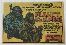 1974 small cartoon ad ~ Planet Of The Apes ~ 2.75x3.5 inches
