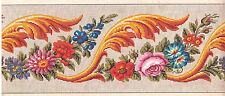 Antike Stickvorlage: Handcolorierter Kupferstich,M.Levy Berlin, um 1800/20