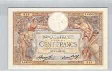 FRANCE 100 FRANCS LOM 9.5.1935 S.48305 N° 1207617313 PICK 78c