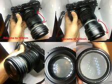 Custom Modified Projection lens 100-120mm + GFX adapter for Fuji 50R Fujifilm,GF