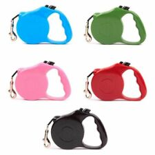 3/5M Retractable Dog Leash Puppy Collar Automatic Extending Rope Walking Leashes