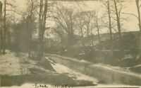 Erie Canal New York 1907 RPPC Photo Postcard 20-6844