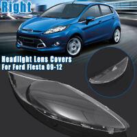 Right Car Headlight Cover Lense Headlamp Clear Lens Shell For Ford Fiesta 09-12